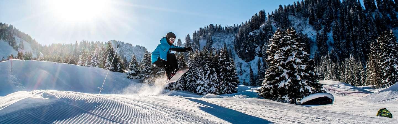 Urlaub mit eigener Anreise ski Schweiz